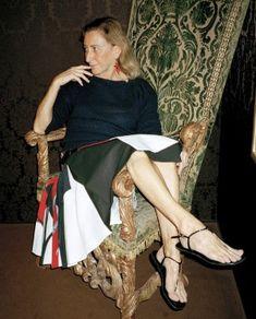 Miuccia Prada fotografata da Manuela Pavesi