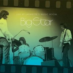 Big Star - Live at Lafayette's Music Room, Memphis, TN Vinyl Music Room Art, Music Studio Room, Stars Play, For Stars, Big Music, Good Music, Cute Bulletin Boards, The Kinks, Music Classroom