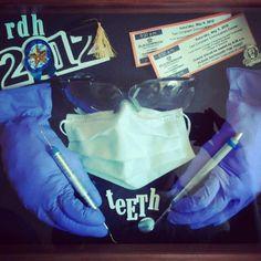 ODU Dental Hygiene shadow box, Class of 2012 by Angela