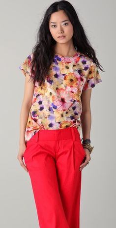 Dallin Chase Mister City Floral Top (LOVE-this should be you Easter outfit Sissy!)