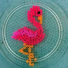 Flamingo perler bead