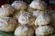 Glazed Sprinkle Sugar Cookies | Once A Month Meals