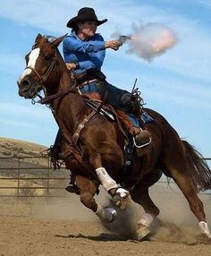 I have been interested in mounted shooting lately... One day maybe Freedom and me can do this :)
