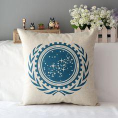 Star Trek cushion pillow United Federation of Planets