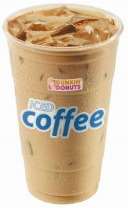 1. Iced Latte | Dunkin' Donuts 1 cup milk 1/3 cup double ...