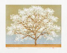 Hajime Namiki Tree Scenes, dogwood