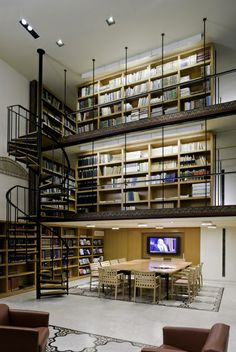 NYU Hagop Kevorkian Center Library | Turett Collaborative Architects | Archinect