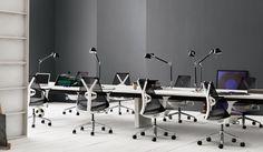 Herman Miller Sayl AS1EA33 | Slate grey arm pads | DockDesignshop.nl Project interior