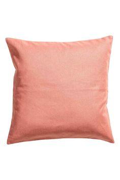 Copricuscino in tela di cotone - Corallo - HOME | H&M IT 1