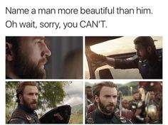 Just throwing that out there <<<<it's a tie Marvel Memes, Marvel Dc Comics, Marvel Avengers, Chris Evans Captain America, Capt America, I Understood That Reference, Steve Rogers Bucky Barnes, Steven Grant Rogers, Scott Lang
