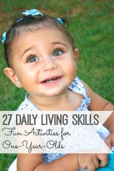 27 fun activities for 1-year-olds!