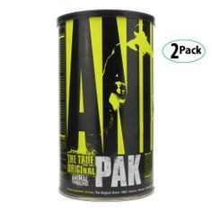 Universal Animal Pak Sports Nutrition Supplement 44 Count 2-Pack by Universal. $60.99