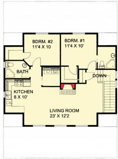 Guest Quarters or Rental Income - 35445GH | Carriage, Metric, 2nd Floor Master Suite, CAD Available, PDF | Architectural Designs