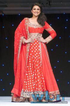 Parineeti Chopra at the Manish Malhotra Gala Fashion Fundraiser in London in aid of The Angeli Foundation