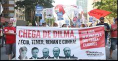 Portal Galdinosaqua: Marcha Nacional dos Trabalhadores e Trabalhadoras .Os manifestantes defendem a realização de uma greve geral e prometem uma agenda de mobilizações e manifestações para os próximos meses...