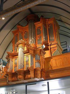 Veenendaal - Reformed Old Church, organ 2 by pietbron, via Flickr