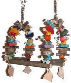 bird/parrot toy J Birds, I Like Birds, Diy Bird Toys, Diy Toys, Types Of Species, Budgies, Parrots, Parrot Toys, Bunny Toys