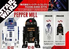 R2-D2 Pepper Mill