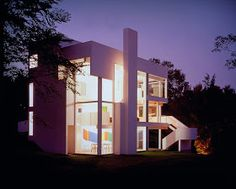 EMCARQUITECTURA: Casa Smith, Richard Meier