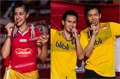 2015 BWF World Championships: Carolina Dominates for 2nd Year; Mohammad and Hendra Win 2nd Gold