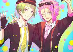 Io and Ryuu - Binan Koukou Chikyuu Bouei-bu LOVE! by 甘味 on pixiv