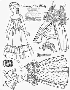 935 best paper dolls accessories images paper puppets paper Vintage Fashion Clothing vintage paper doll betty marlowe from charlestown children s friend friends from books 1966 lorie harding picasa web albums