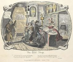 Gin was invented by the Dutch  who created a type now called Genever