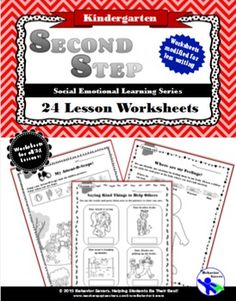 Second Step Connections Kindergarten Social Studies, Elementary Counseling, Kindergarten Lesson Plans, School Counselor, Social Emotional Learning, Social Skills, Second Step Curriculum, School Social Work, Guidance Lessons
