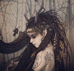 Mournful Dryad