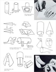 3D Paper Sculpture Techniques Chart   Art Ed- Paper Sculpture ...