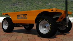Electric Utility, Electric Motor, Chain Drive, Pugs, Pallet, Monster Trucks, Deck, Platform, Technology