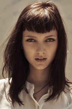 Hair trends: Baby Bangs|glasshouse salon,hair musing,baby bangs,hair inspiration,perfect bangs,short fringe | Glasshouse Journal