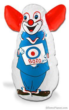 Bozo the Clown Bop Bag