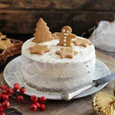 Tészta : - 3 tojás - 15 dkg barna cukor - 15 dkg vaj - 2 ek méz - 26 dkg MesterCsalád gluténmentes s. Christmas And New Year, Oreo, Cheese, Cake, Food, Kuchen, Essen, Meals, Torte
