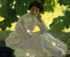 Por amor al arte: Leo Putz – August Macke, Barnett Newman, Alex Colville, Franz Marc, Leo, Akira, Portraits, Portrait Art, Yellow Art