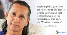 """Realizing what you are is not to lose your life. It is to assume Life with all that represents with all the completeness that Love and Wisdom represent."" Marcos Gualberto  ""Realizar Aquilo que Você É não é perder a vida; é assumir a Vida com tudo o que ela representa com a totalidade da completude que o Amor e a Sabedoria representam"" Marcos Gualberto     #ramanashramgualberto #mestregualberto #satsang #ramana #ramanamaharshi #byronkatie #awakes #spiritualgrowth  #lightworker #ubuntu…"