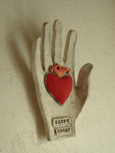 sacr'e coeur - wall hand by terraworks