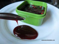 Homemade Pomegranate Molasses (Nar Ekşisi), Ready To Use | Turkish Food