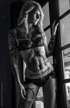 #tattoos #ink #tattoedgirls
