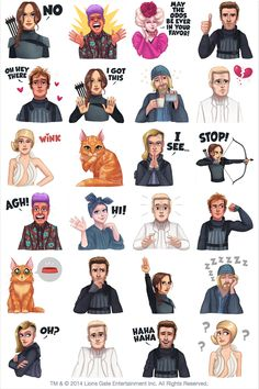 Mockingjay Part 1 #facebooksticker by The Hunger Games Citizens of Panem... Stand up with Katniss and the rebels of District 13!
