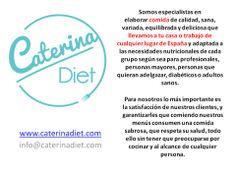 Información #caterinadiet .