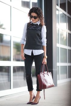 Contrast Lace - Nordstrom Petites | Alterations Needed