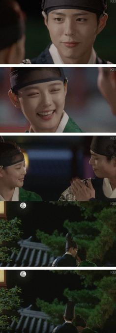 [Spoiler] Added episode 14 captures for the #kdrama 'Moonlight Drawn by Clouds'
