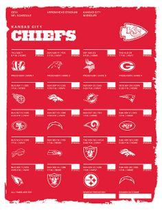 Kansas City Chiefs 2014 NFL Schedule