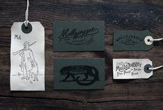 7 vintage style hang tag design inspiration molly jogger logo Friday Inspiration 179