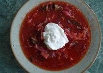 Boršč - trochu podle mě Borscht, Goulash, Korn, Thai Red Curry, Stew, Chili, Pudding, Ethnic Recipes, Desserts