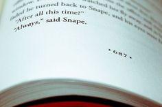 """""""Always"""" #harrypotter #snape #always #words"""