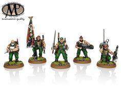 Imperial Guard Catachan Command Squad (5 figures)
