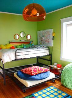 Kids room paint colors girls light fixtures 43 ideas for 2019 Cool Boys Room, Boy Room, Green Bedroom Paint, Kids Bedroom, Bedroom Decor, Trendy Bedroom, Kids Room Lighting, Kids Room Paint, Kids Rooms