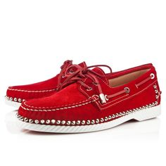 Christian Louboutin Steckel Loafers Red CL20140134